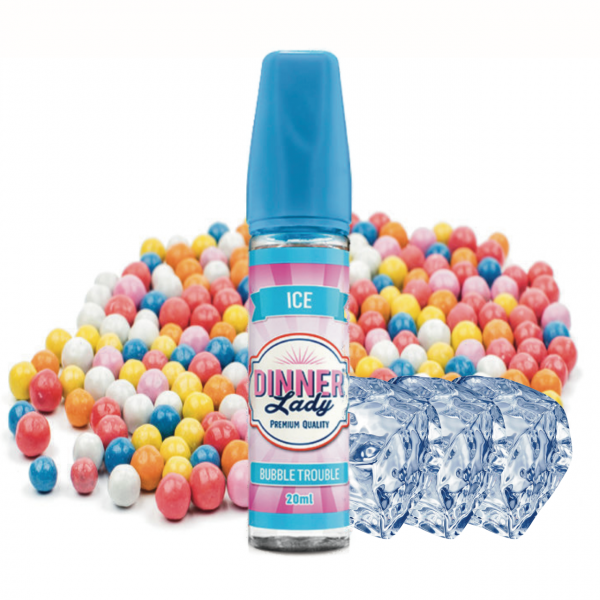 Dinner Lady Sweets Ice Bubble Trouble - 20ml (Longfill) Aroma